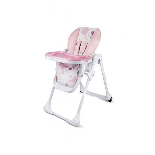 Krzesełko do karmienia yummy pink 5o35ee marki Kinderkraft