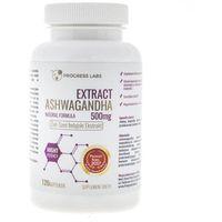 Progress Labs Ashwagandha Ekstrakt 500 mg - 120 kapsułek (5906660414162)