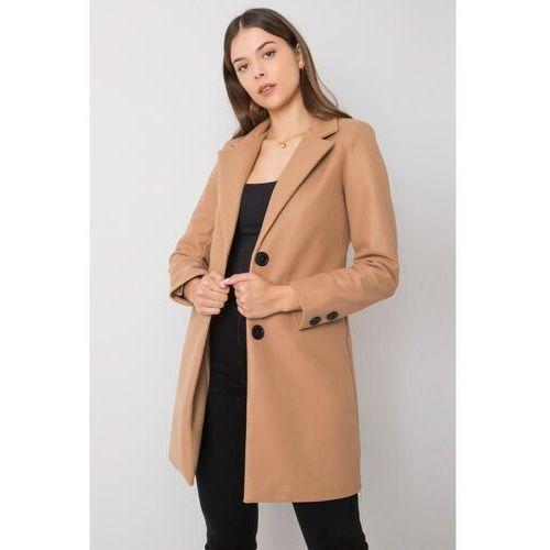 Ciemnobeżowy płaszcz 8A41C6