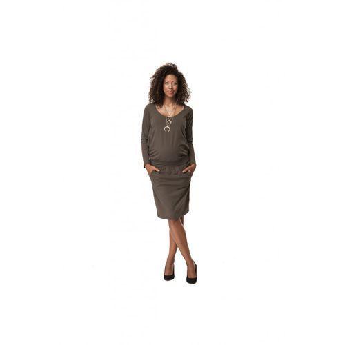 Sukienka ciążowa khaki 5o35lj marki Cool mama