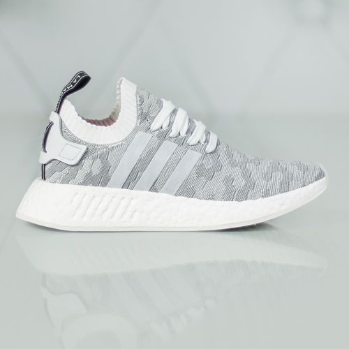 adidas Originals NMD_R2 PK Tenisówki i Trampki white/core black (4058025130413)