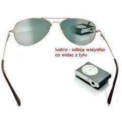 Przeciwsłoneczne Szpiegowskie Okulary Detektywa/Agenta FBI z Widokiem do Tyłu!!,