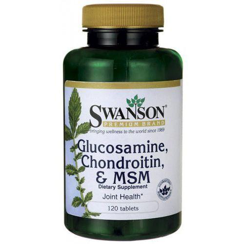 Tabletki Glukozamina, chondroityna i MSM 250/200/150mg 120 tabl