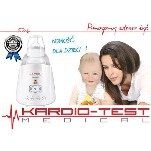 Hi-tech medical kardio-test Podgrzewacz do butelek sterylizator kt-baby heater