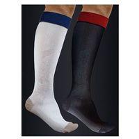 Podkolanówki sportowe kompresyjne ACTIVE EFFECT - UNISEX (ucisk I klasy 21mmHg) - kolor CZARNY - ANTISTRESS