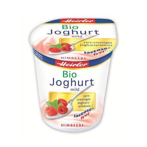 Jogurt malinowy bez laktozy 3,5% bio 150 g - Heirler