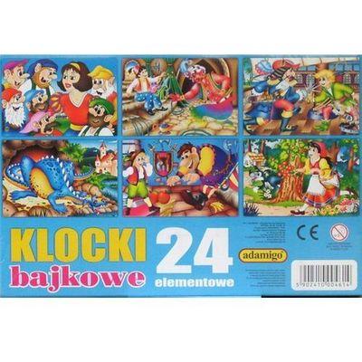 Klocki dla dzieci Adamigo InBook.pl