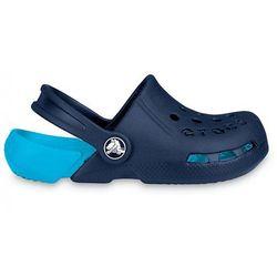 Klapki 10400 navy/electric blue - niebieski marki Crocs