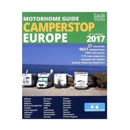 Motorhome Guide Camperstop Europe 2017