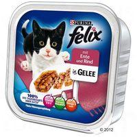 Felix mięsne kawałeczki w galarecie, 32 x 100 g - dziczyzna z drobiem