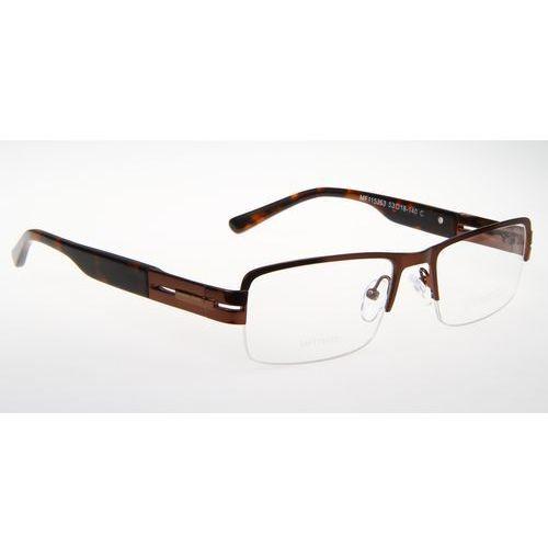 Oprawki okularowe lorenzo mf115363 col. c brązowy Lorenzo conti