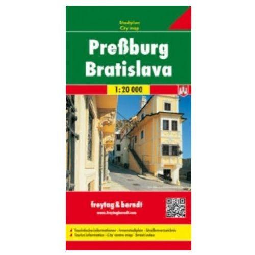 Bratysława mapa 1:20 000 Freytag & Berndt (1 str.)