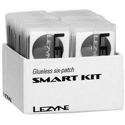 Lezyne Łatki do dętek zestaw smart kit box 6x łatki samoprzylepne, tarka, 1x łatka do opony pudełko 34szt. (new)