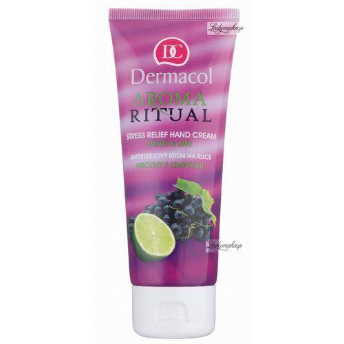 DERMACOL Aroma Ritual – Krem do rąk z winogronami i limonką 100 ml, 4376 - Promocja