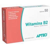 Tabletki APTEO Witamina B2 3mg x 50 tabletek