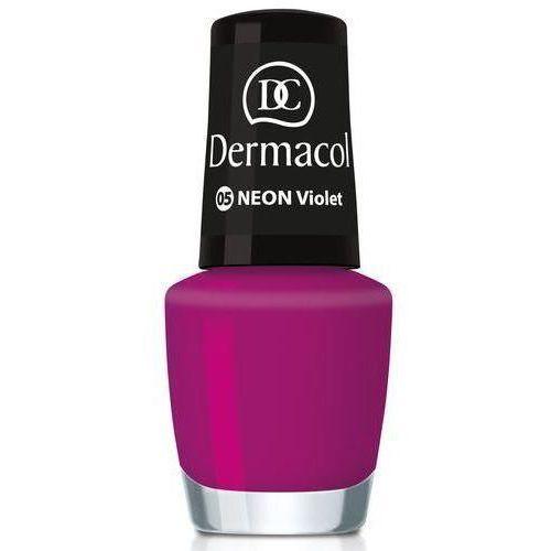 Dermacol Neon Rainbow neonowy lakier do paznokci odcień 12 Love 5 ml