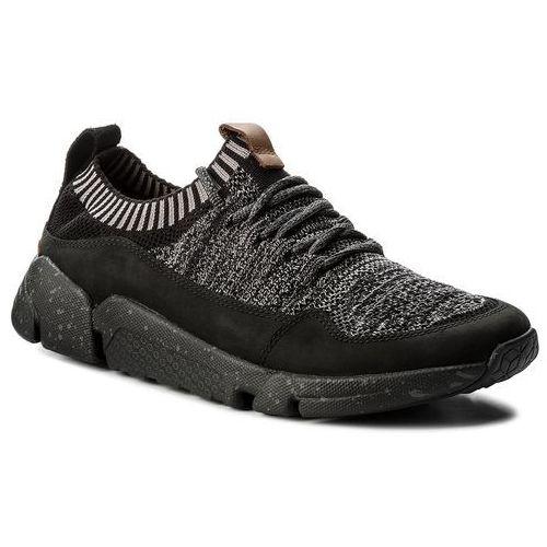 Sneakersy - triactive knit7 black, Clarks, 40-45