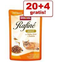 Animonda rafine adult smak: łosoś i krewetki w sosie ziołowym 100g (4017721738002)