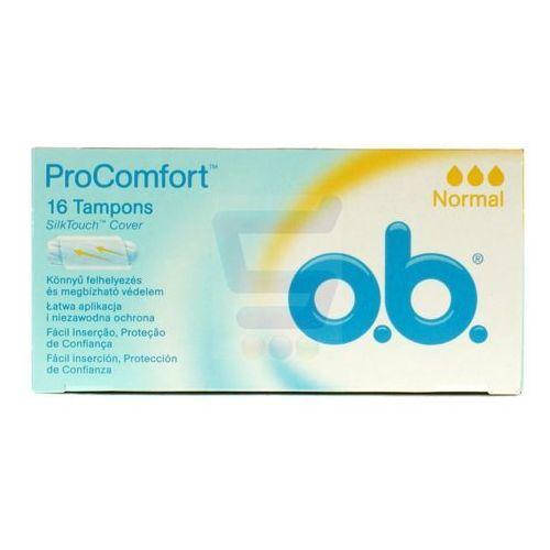 Tampony O.B. ProComfort Normal (16 sztuk)