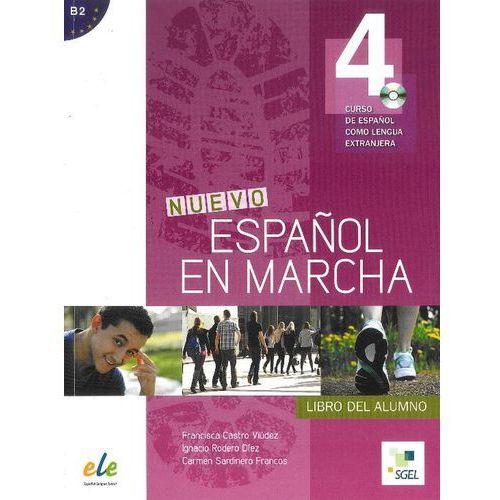 Nuevo Espanol en marcha 4 podręcznik CD audio, SGEL-Educacion