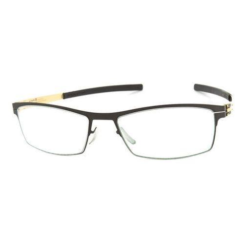 Ic! berlin Okulary korekcyjne xm0067 alwin c. black gold