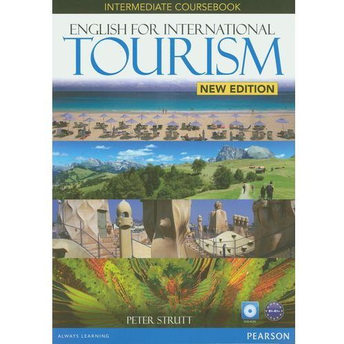 English For International Tourism New Intermediate Coursebook with DVD-ROM, oprawa miękka