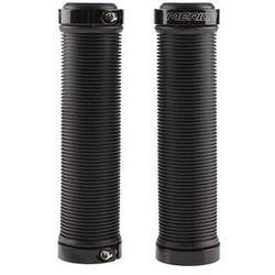 Chwyty kierownicy Merida 2 pierścienie guma GP-MD010 czarne 130mm, C0213