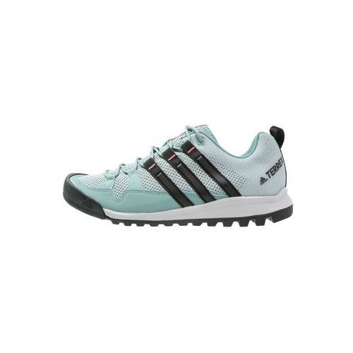 Adidas Performance TERREX SOLO Buty wspinaczkowe vapour steel/core black/tactile pink