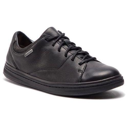de0161a14 Półbuty - norsen lacegtx gore-tex7 black leather (Clarks) opinie + ...