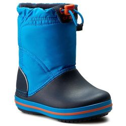 Śniegowce - crocband lodgepoint boot k 203509 ocean/navy marki Crocs