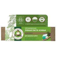Organiczna pasta do zębów - cedrowa - zdrowe zęby Agafi