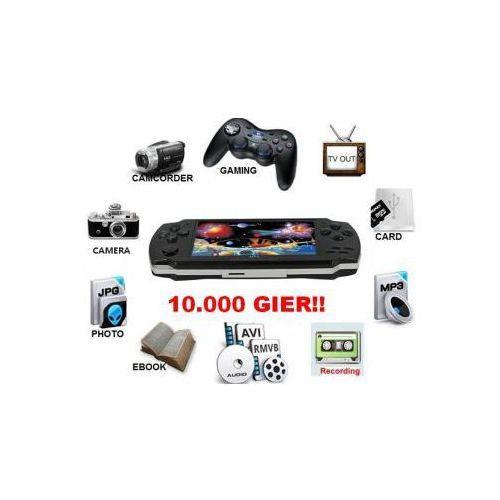"""Wielofunkcyjna konsola do gier z lcd 4,3"""" (baza 10.000 gier!) + kamera + dyktafon + współpraca z tv. marki Mp5 player"""