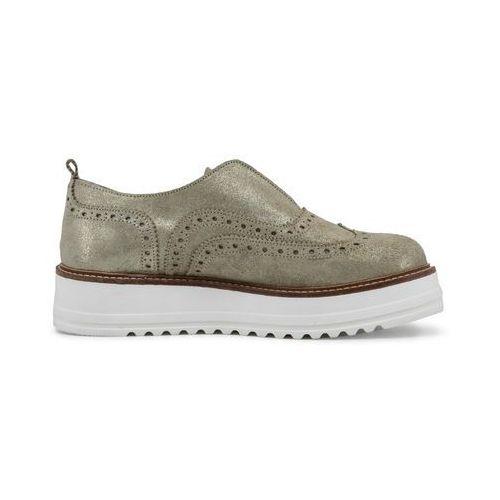 niska cena rozmiar 7 buty do biegania ▷ Płaskie buty damskie - GERALDINA-89, GERALDINA_ORO-40 ...