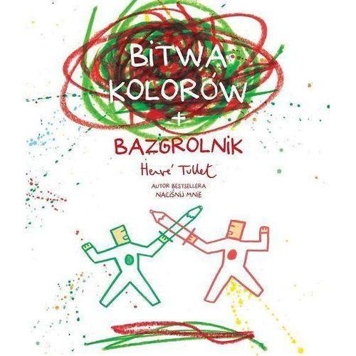 Bitwa kolorów + bazgrolnik, oprawa broszurowa