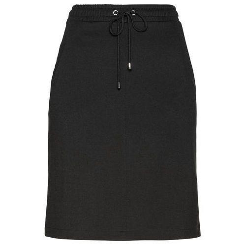 Długa spódnica bonprix koralowy, kolor czarny