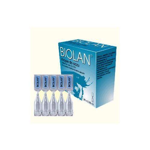 Pharm supply Biolan 0,15% krople do oczu x 15 minimsów
