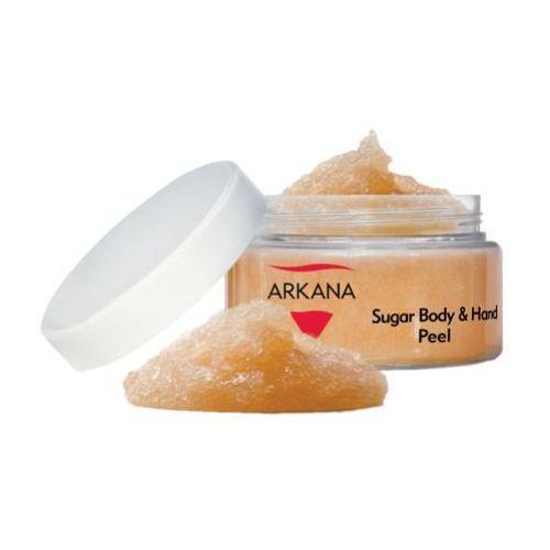 Arkana SUGAR BODY & HAND PEEL Peeling cukrowy do ciała i dłoni (43002)