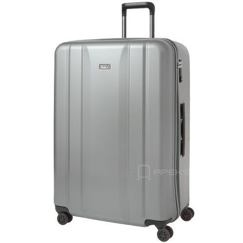 936a057ed9ab7 Stratic Straight duża walizka na kółkach 77 cm / srebrny - srebrny  (4001807344485) -