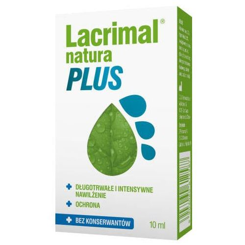 Lacrimal natura plus krople do oczu 10ml marki Polpharma