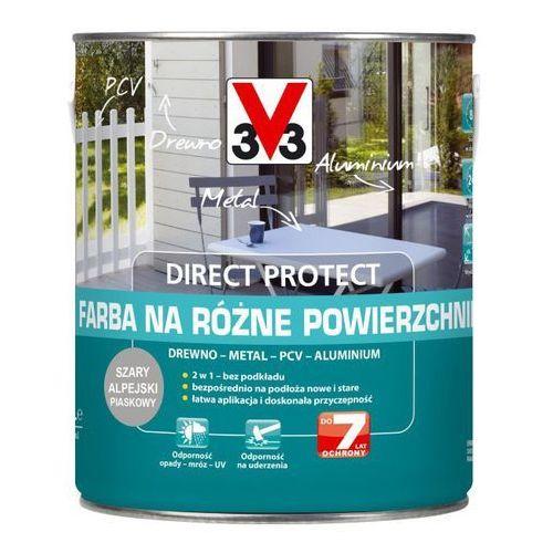 Farba V33 Direct Protect szary alpejski 2 5 l, kolor szary