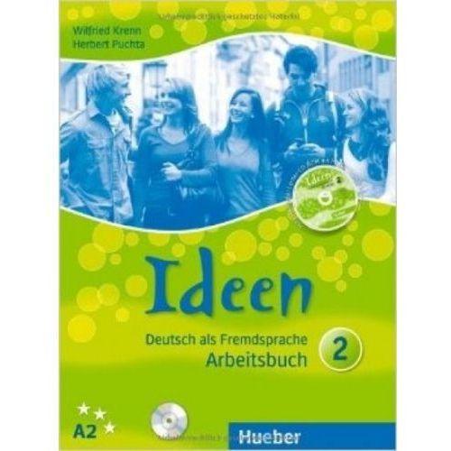 Ideen 2. Arbeitsbuch + CD (Zeszyt ćwiczeń), oprawa broszurowa