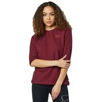 bluza FOX - Heater 3/4 Crew Fleece Cranberry (527)