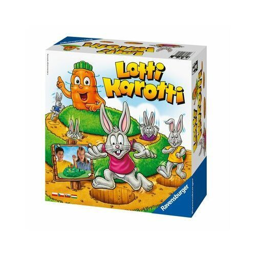 Gra zręcznościowa RAVENSBURGER Lotti Karotti
