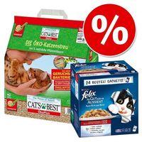 Felix Cats best ecoplus + fantastic w korzystnej cenie! - rybne smaki (7613032723217)