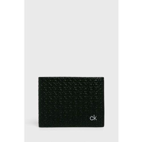 Calvin klein - portfel skórzany + brelok