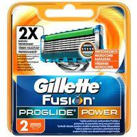 GILLETTE 2szt Fusion Pro Glide Power Wkłady do maszynki do golenia, 62428