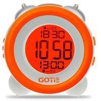 budzik elektroniczny z mechanicznym dzwonkiem gbe-200p darmowa dostawa do 400 salonów !! marki Gotie