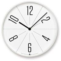 Zegar ścienny awa gugu biała tarcza biała obudowa marki Lemnos