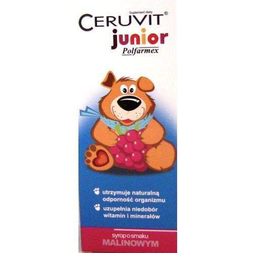 Syrop Ceruvit Junior sm.malinowy syrop - 120 ml