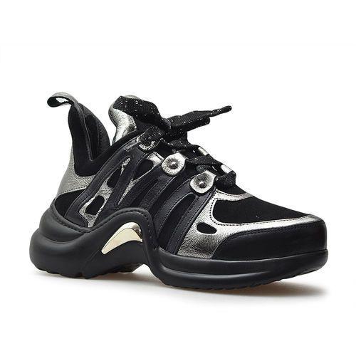 Sneakersy 064702119k czarne, Venezia